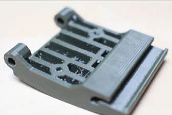 3D printed part Dean Hackett – University of Brighton