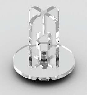 3D printer reel holder modelled in PTC Creo